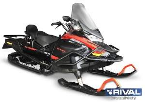 FULL WRAP-AROUND FRONT BUMPER BRP SKI-DOO SKANDIC WT 900 ACE/SKANDIC SPORT 600 EFI (REV Gen4 Wide 20″)+ FITTING KIT