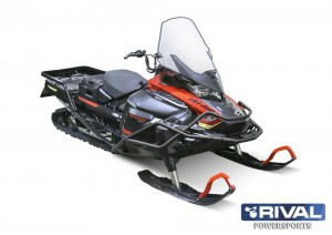 FULL WRAP-AROUND FRONT BUMPER BRP SKI-DOO SKANDIC SWT (REV Gen4 Wide 24″)+ FITTING KIT